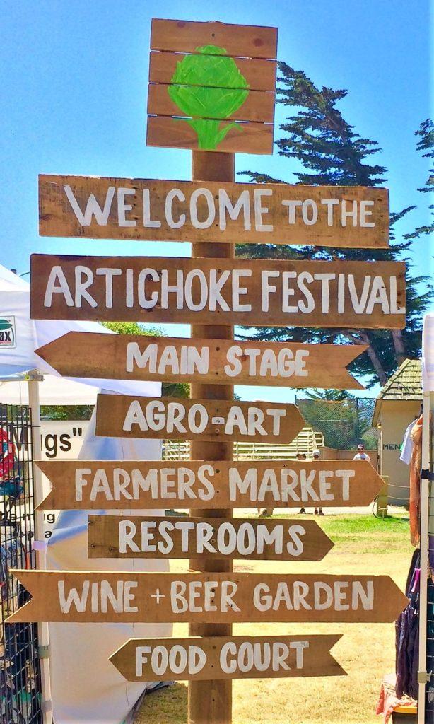 Artichoke Festivalin Monterey