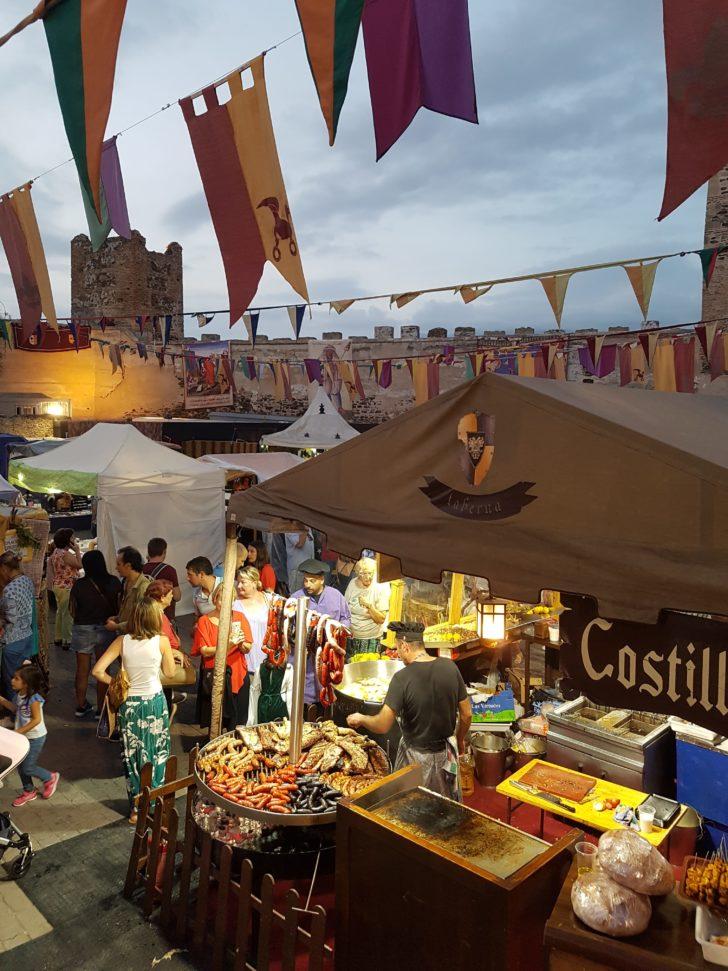 Medieval Market in Funegirola